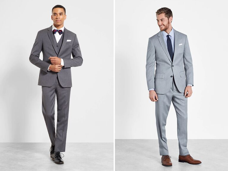 grey suits for grooms are trending in 2019