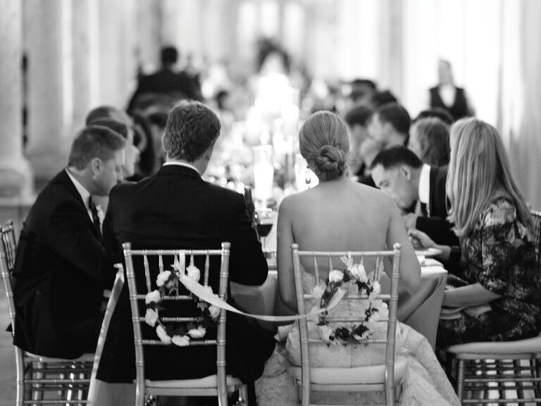 Wedding Receptions A Traditional Wedding Reception Timeline