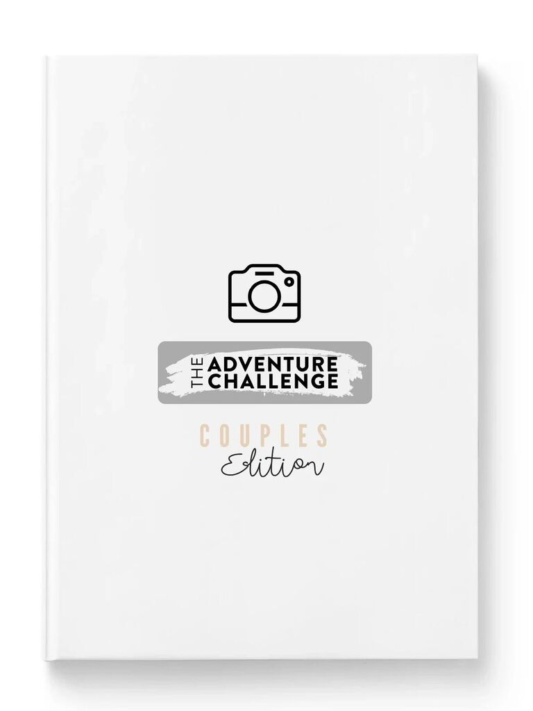 Adventure journal paper anniversary gift for him