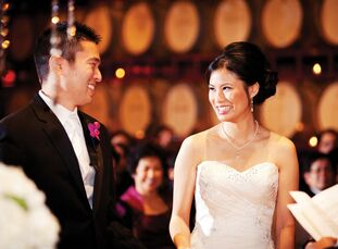 The Bride Phing Yam, 27, a financial analyst at Apple The Groom Ryan Yamamoto, 29, a utilities engineer for the State of California  The Date March 17