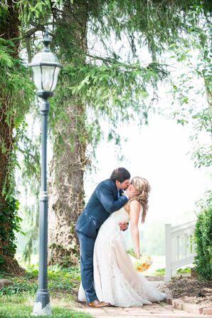 Backyard Wedding in New Castle, Indiana