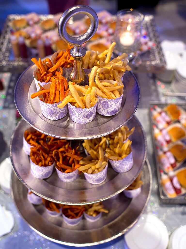 French fry weddign reception appetizer or late night snack idea