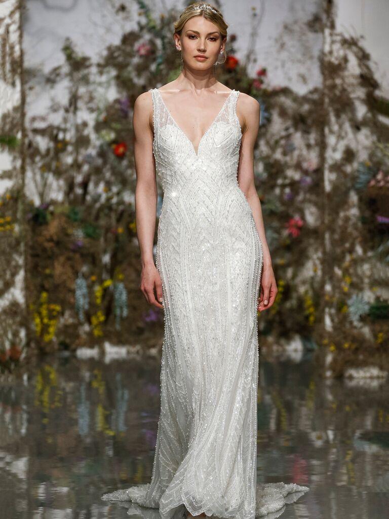 Morilee by Madeline Gardner Spring 2020 glamorous wedding dress