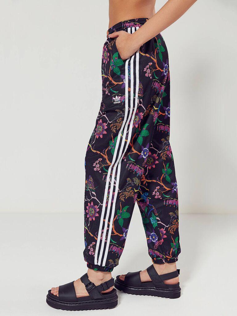 Floral bridesmaid sweatpants