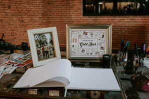 Wedding Guest Book at the Charles River Museum of Industry and Innovation in Waltham, Massachusetts