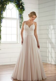 Essense of Australia D2420 A-Line Wedding Dress