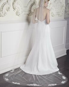 Mikaella by Paloma Blanca Veils Collection VM452C Veil