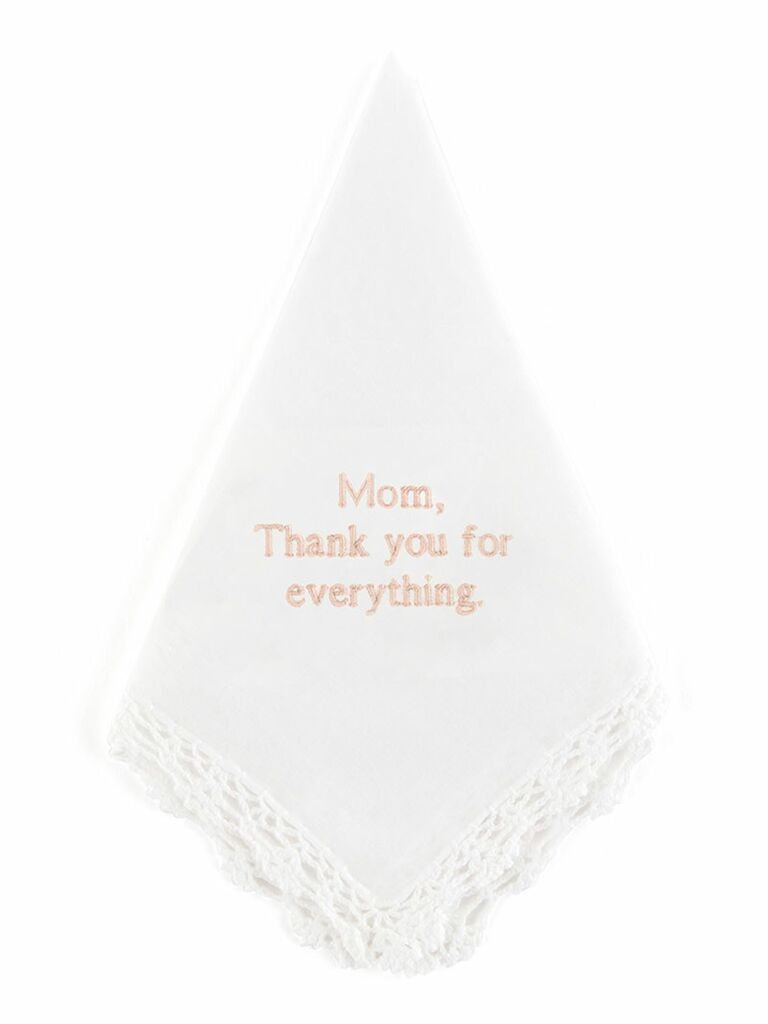 Custom handkerchief for mom