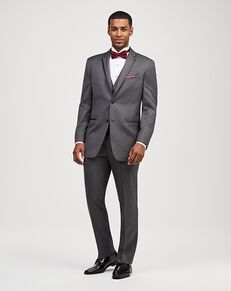 Jos. A. Bank Satin Edge Gray Tuxedo Gray Tuxedo