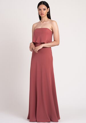 Jenny Yoo Collection (Maids) Layne Strapless Bridesmaid Dress
