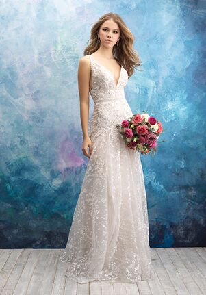 Allure Bridals 9572 A-Line Wedding Dress