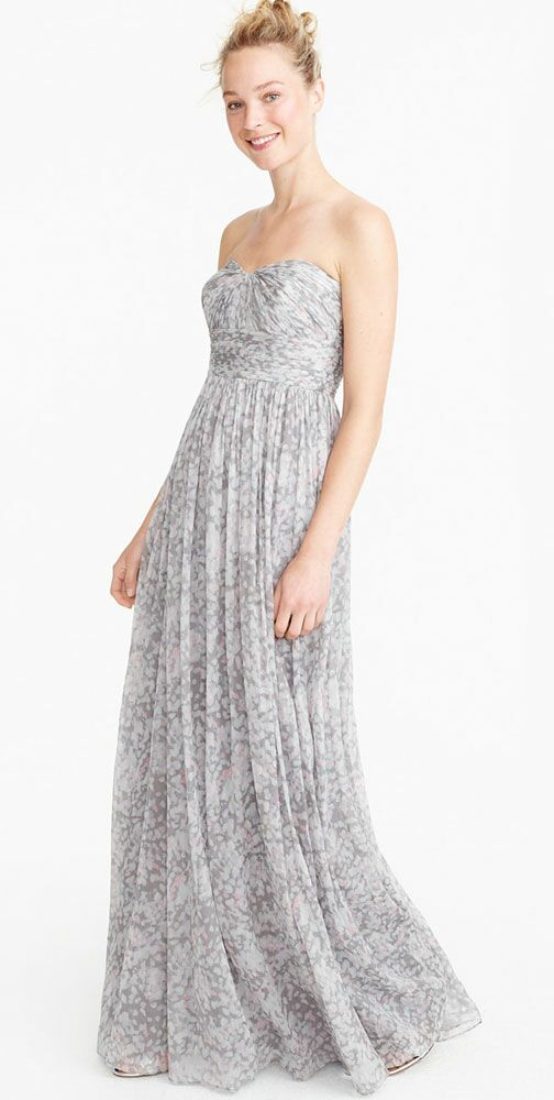 53be81a7916b Gray Bridesmaid Dresses to Shop Now