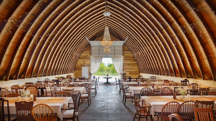 Pioneer creek farm llc lomira wi for Terrace 167 wedding venue