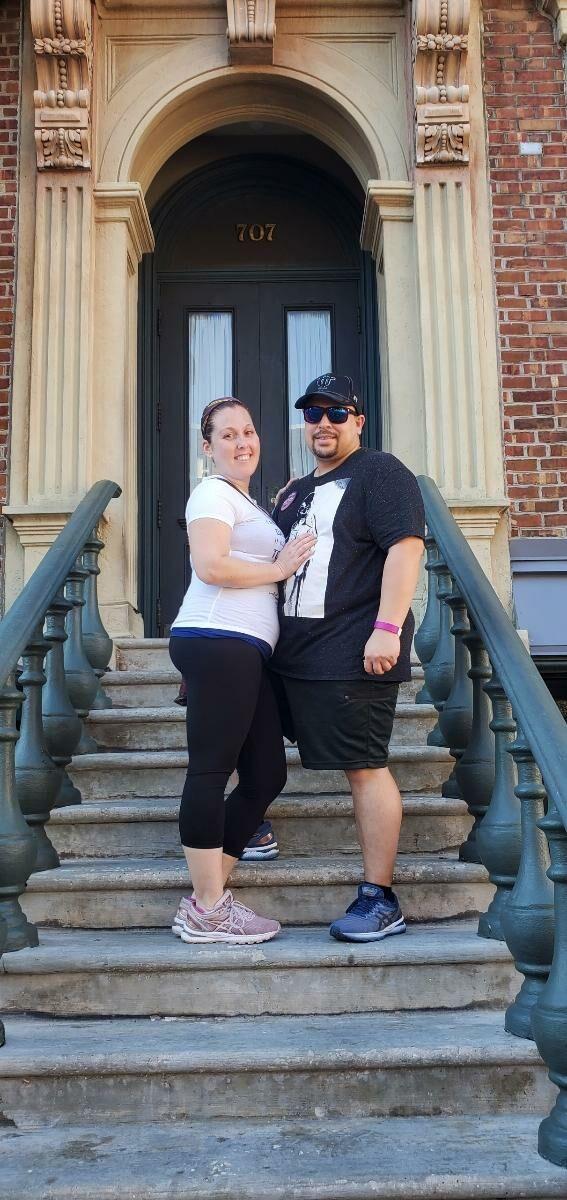 Image 1 of Megan and Daniel
