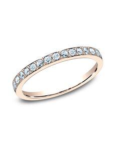 Benchmark 522721R Rose Gold Wedding Ring