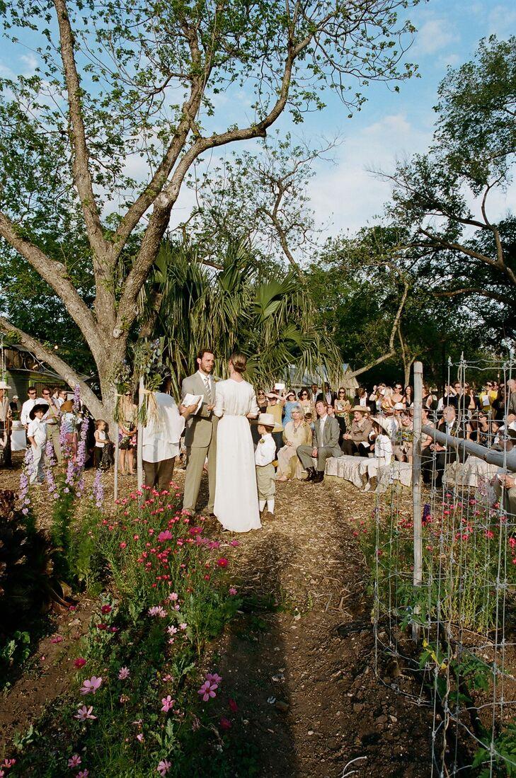 Outdoor Ceremony at Rain Lily Farm