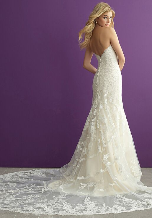 Allure Romance 2954 Sheath Wedding Dress