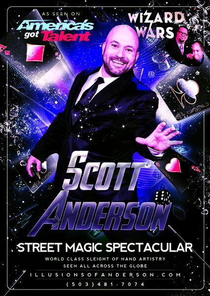 Illusions Of Anderson - Magician - Canby, OR