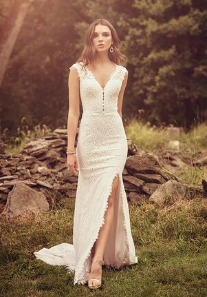 Lillian West 66083 A-Line Wedding Dress