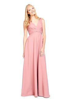 Bari Jay Bridesmaids 2020 V-Neck Bridesmaid Dress