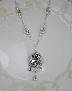 Everything Angelic Blanca Necklace - n337 Wedding Necklace photo