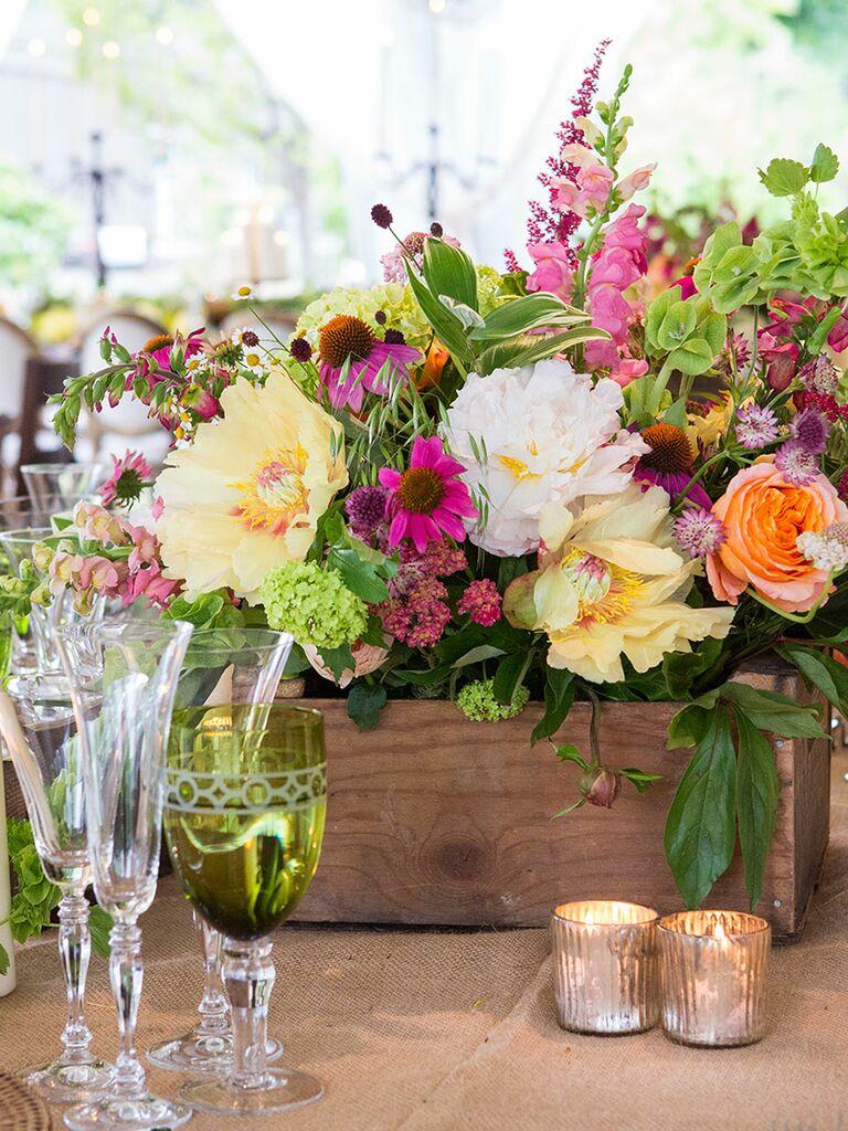 Low Wedding Centerpiece Ideas