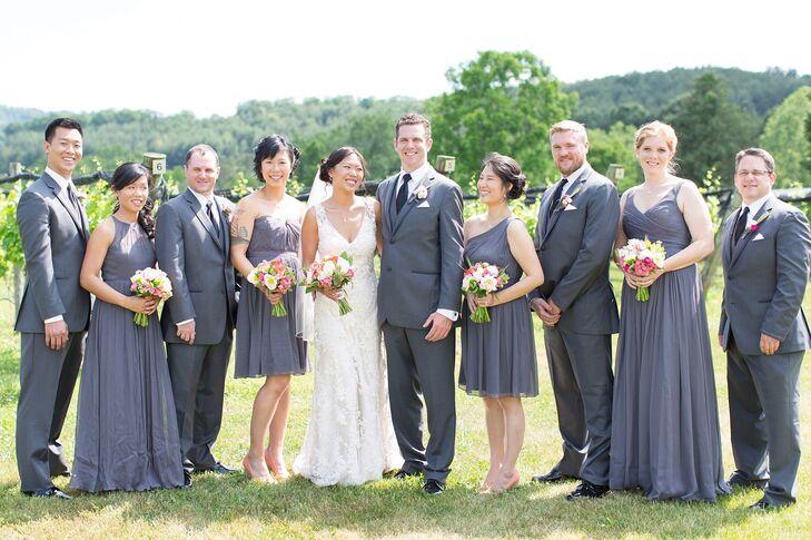 901f94b8ca Dark Gray Wedding Party Attire
