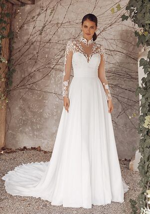 Justin Alexander Abrianna A-Line Wedding Dress