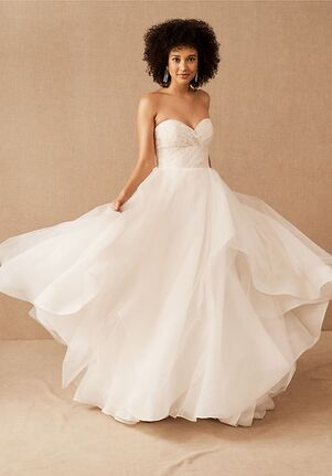Hayley Paige x BHLDN collection Aaliyah Gown Ball Gown Wedding Dress