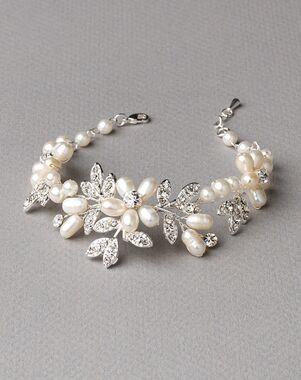 Dareth Colburn Dahlia Freshwater Pearl Bracelet (JB-4818) Wedding Bracelet photo