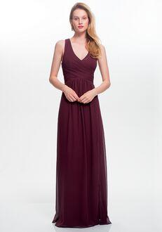 #LEVKOFF 7022 V-Neck Bridesmaid Dress