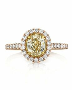 Mark Broumand Unique Oval Cut Engagement Ring