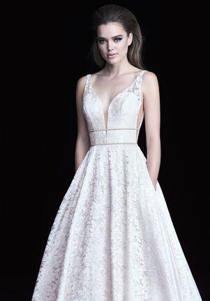 Paloma Blanca 4754 A-Line Wedding Dress