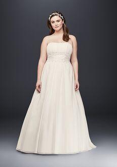 David's Bridal David's Bridal Style 9V9743 A-Line Wedding Dress