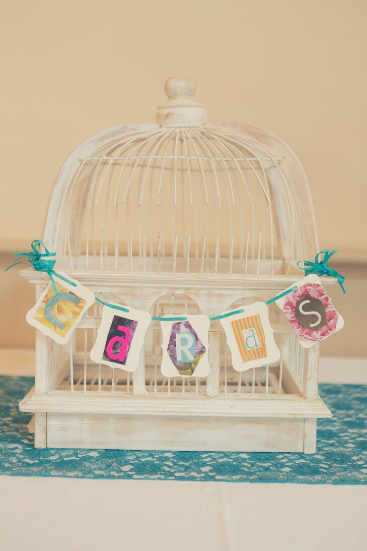 Jill used lots of color and vintage-inspired detail to create her Alice in Wonderland theme.