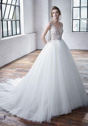 Badgley Mischka Bride Colette Ball Gown Wedding Dress
