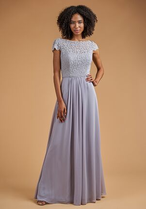 B2 Bridesmaids by Jasmine B223058 Bateau Bridesmaid Dress