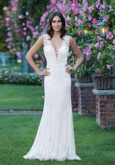 Sincerity Bridal 3913 Sheath Wedding Dress