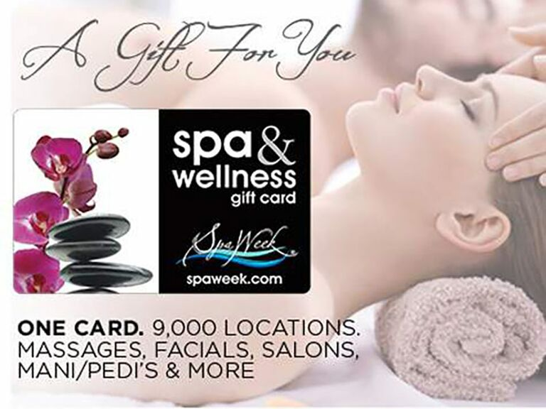 Spa Week gift card for mother-in-law