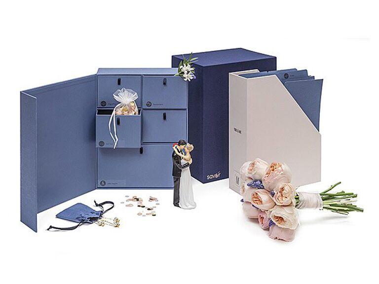 Wedding keepsake library bachelorette party gift