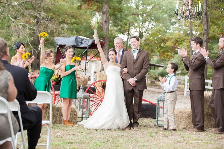 Brittany and Brian's Intimate Outdoor Ceremony