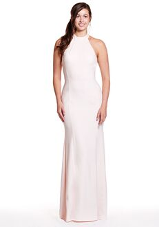 Bari Jay Bridesmaids 1900 Halter Bridesmaid Dress