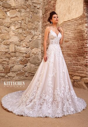 KITTYCHEN Couture PERLA, K1936 A-Line Wedding Dress