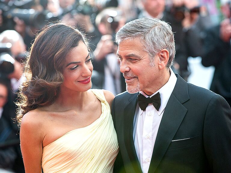 George and Amal Clooney famous celebrity couples