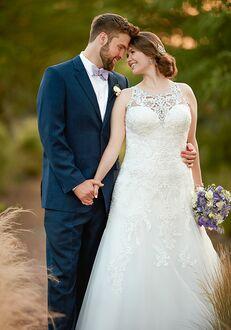 Essense of Australia D2391 A-Line Wedding Dress