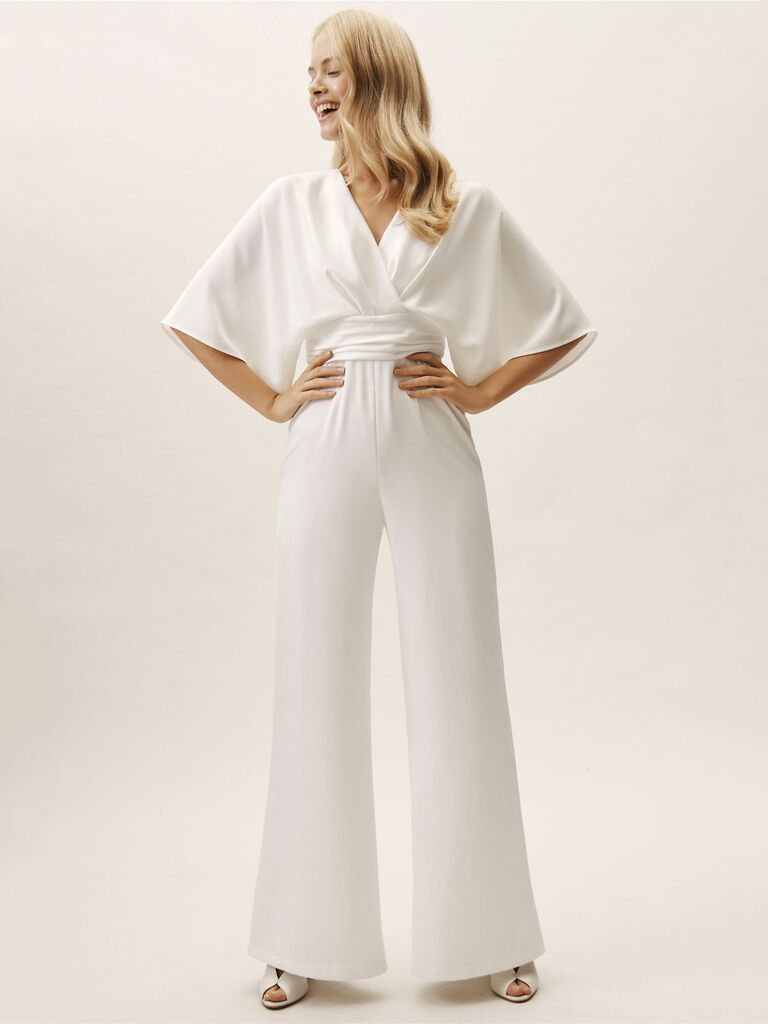 Theia Bridal Kenneth jumpsuit - bridal jumpsuits