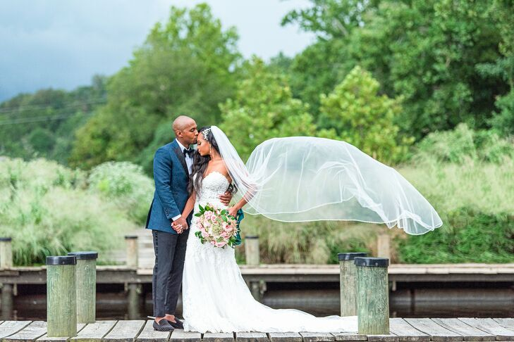 As a wedding planner herself, De'Angela Boone (32 and a federal government employee and lead event coordinator at B Astonished Events) was well prepar