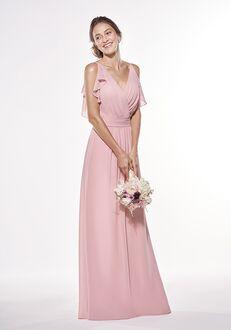 JASMINE P196001 V-Neck Bridesmaid Dress