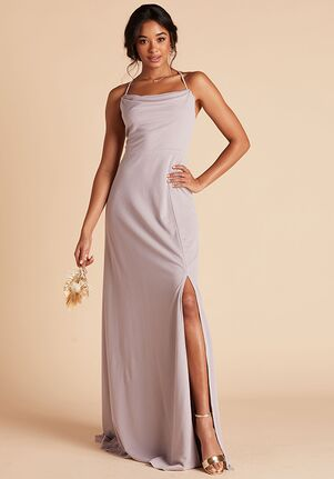 Birdy Grey Ash Crepe Dress in Lilac Scoop Bridesmaid Dress