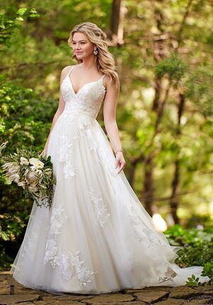Essense of Australia D3102 A-Line Wedding Dress